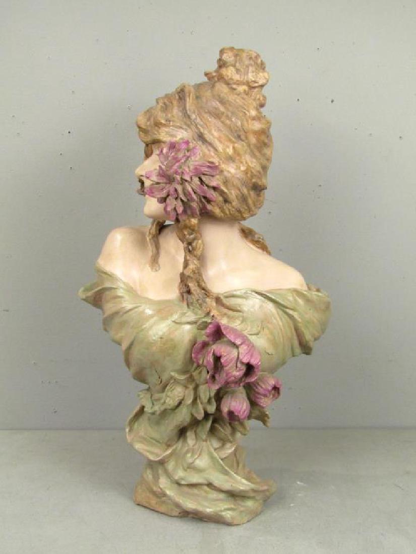 Signed Illegibly - Soft Paste Porcelain Bust - 4