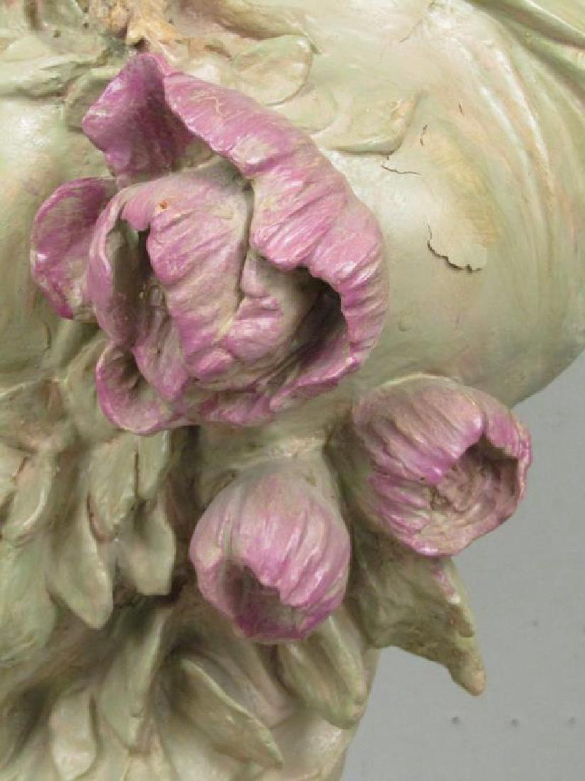 Signed Illegibly - Soft Paste Porcelain Bust - 5