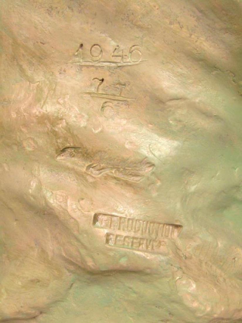 Signed Illegibly - Soft Paste Porcelain Bust - 8