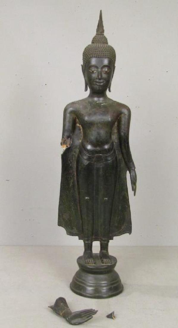 Bronze Clad Concrete Buddha / Bodhisattva
