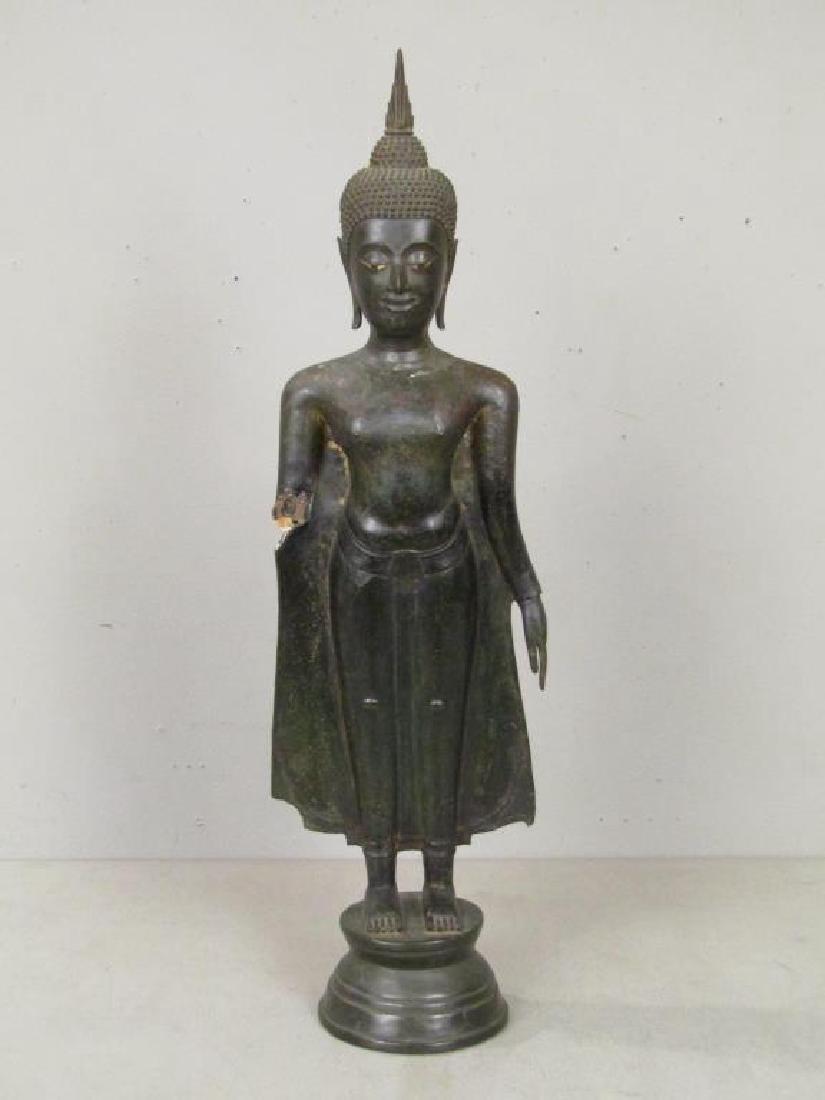 Bronze Clad Concrete Buddha / Bodhisattva - 2