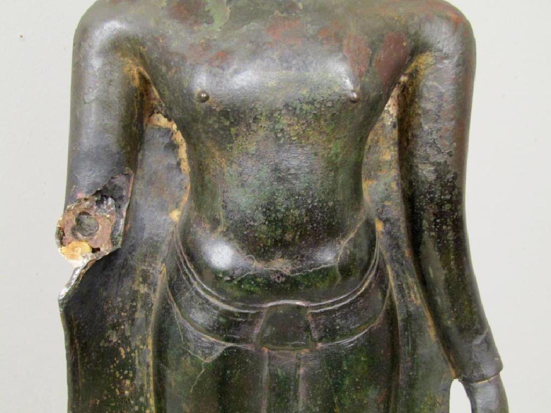 Bronze Clad Concrete Buddha / Bodhisattva - 7