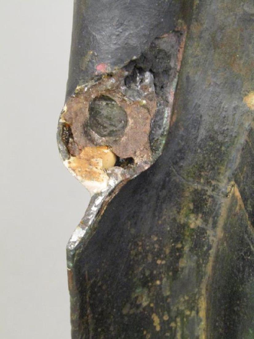 Bronze Clad Concrete Buddha / Bodhisattva - 8