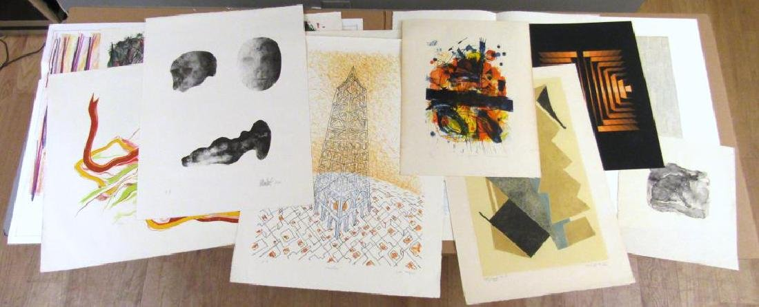 12 Assorted Lithographs