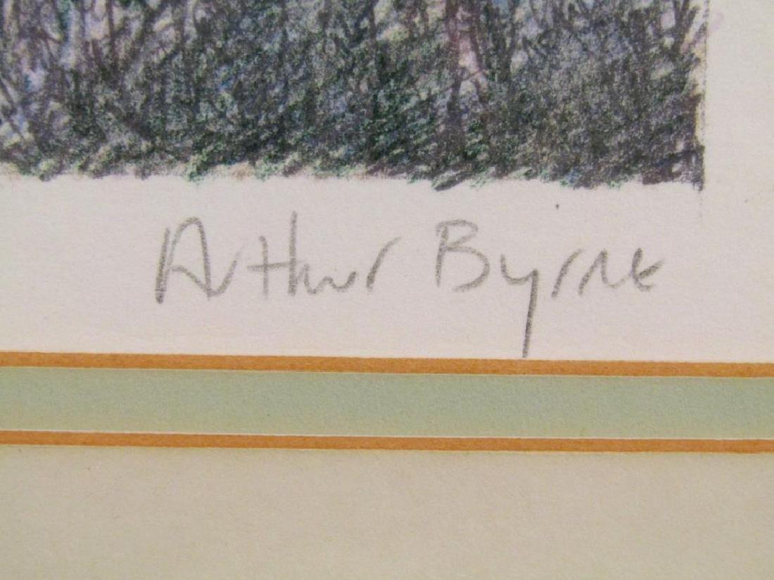 2 Arthur Byrne Lithographs - 5