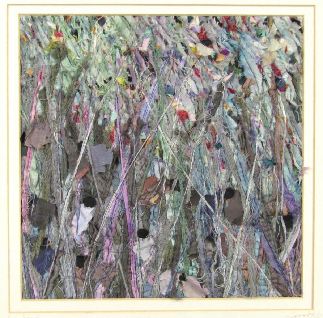 2 Textile / Fabric Mixed Media Artworks - 2