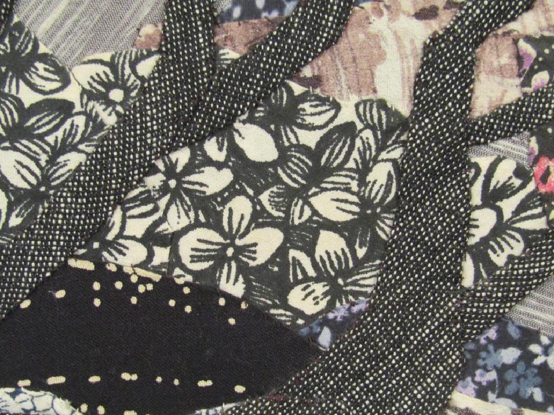 2 Textile / Fabric Mixed Media Artworks - 8