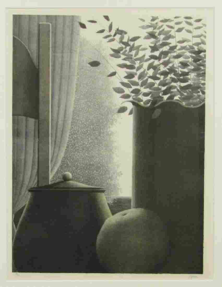Robert Kipniss - Lithograph
