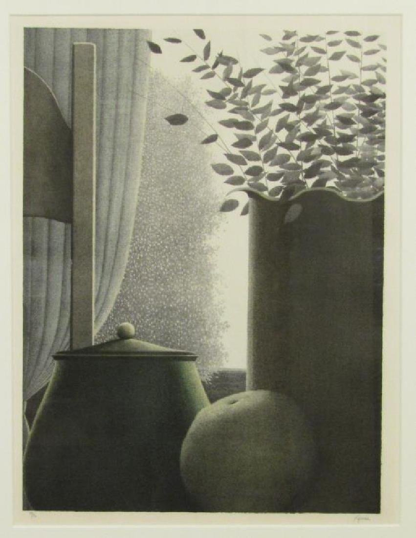 Robert Kipniss - Lithograph