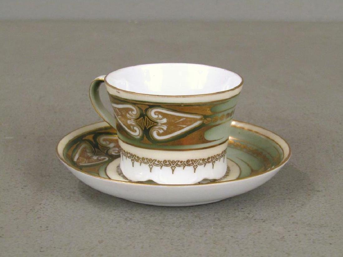 Set of 6 Russian Porcelain Cups and Saucers - 3