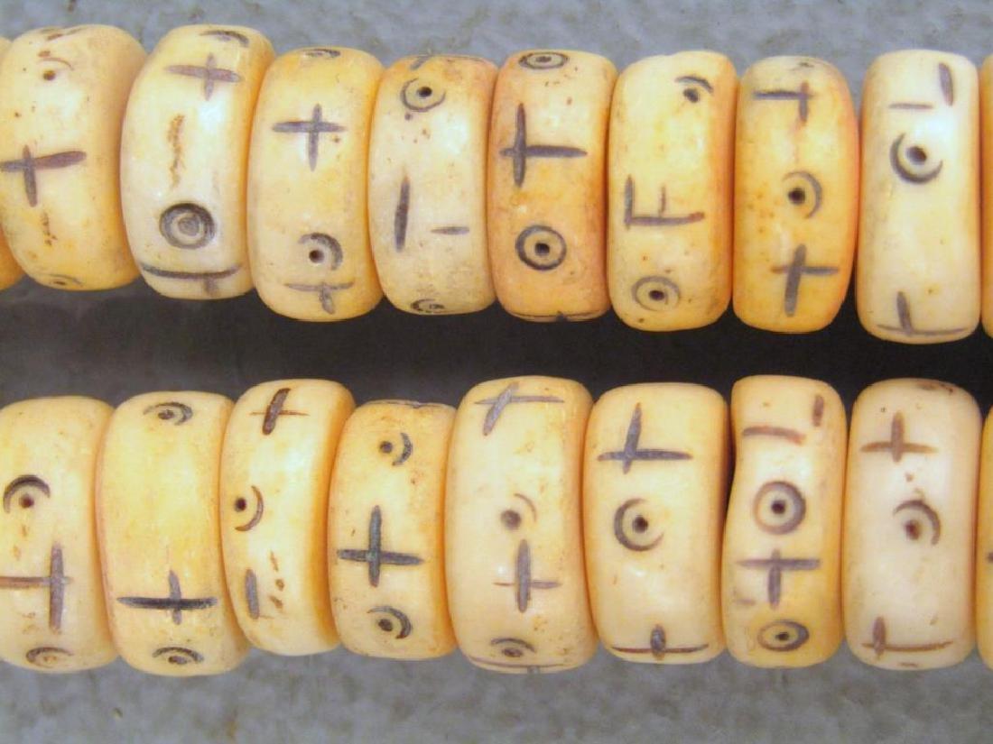 3 Yak Bone Necklaces - 3