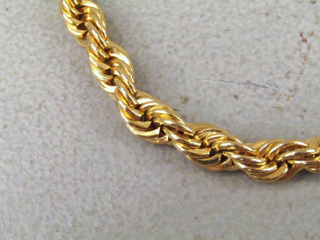 3 Gold Tone Jewelry Articles - 3