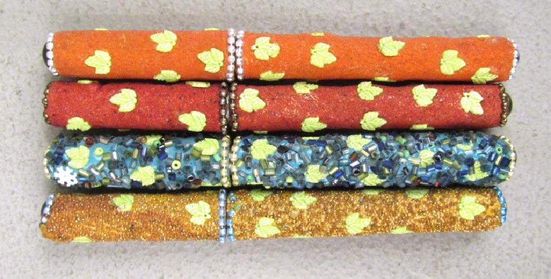 Set of 12 Jeweled Ball Point Pens - 2