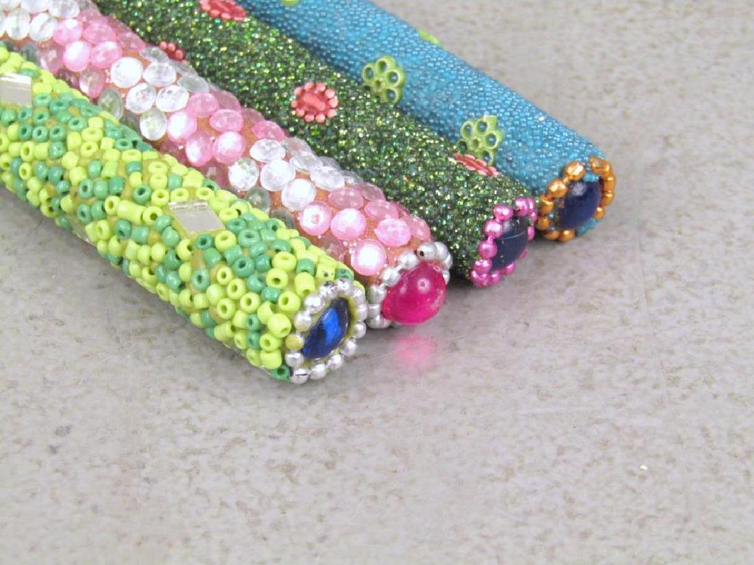 Set of 12 Jeweled Ball Point Pens - 4