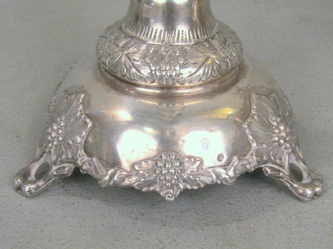 Set of 3 Russian Silver Candlesticks *** - 5