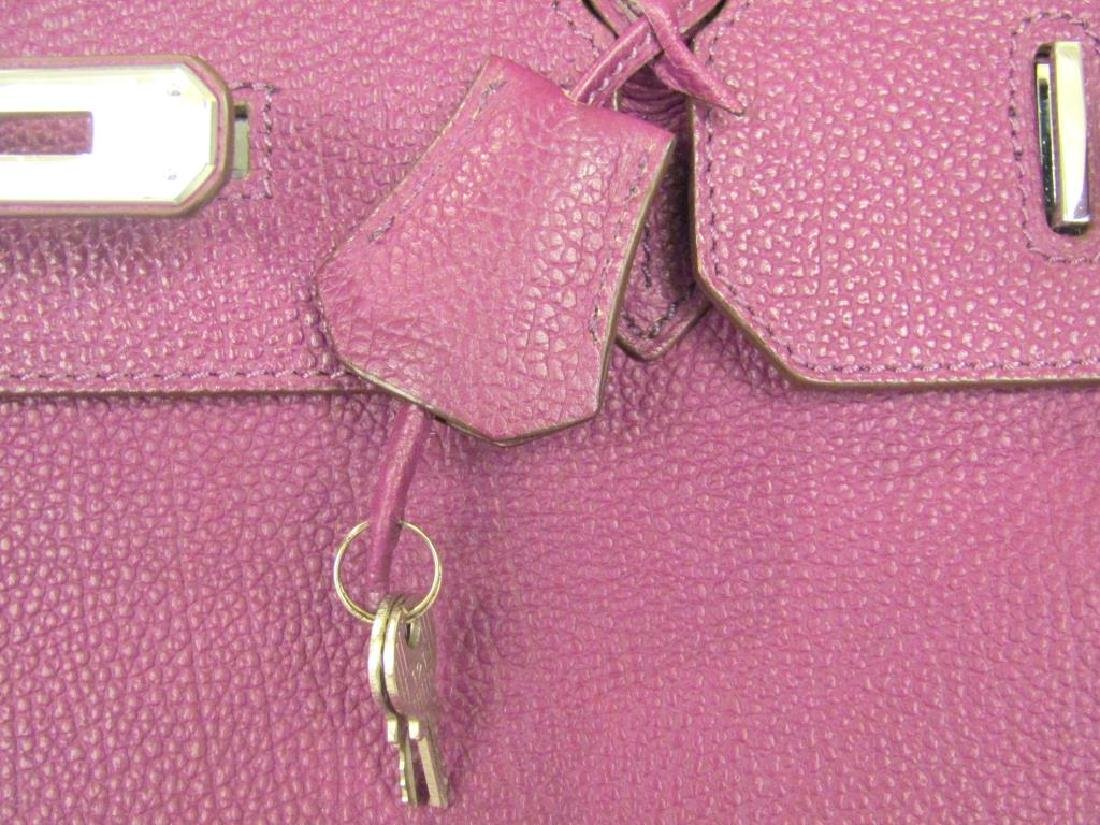 Hermes (?) Purple Leather Candy Bag - 3