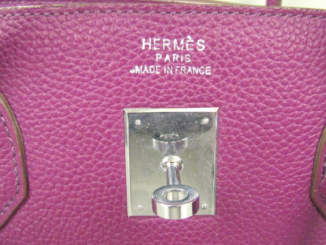 Hermes (?) Purple Leather Candy Bag - 4