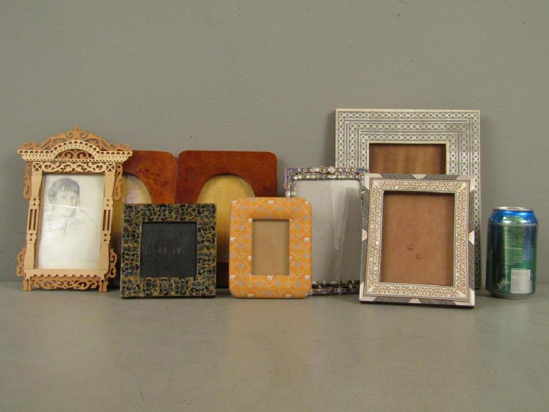8 Assorted Picture Frames - 2