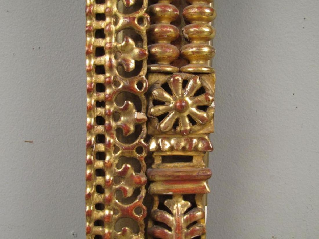 Antique Gilt Carved Frame - 3