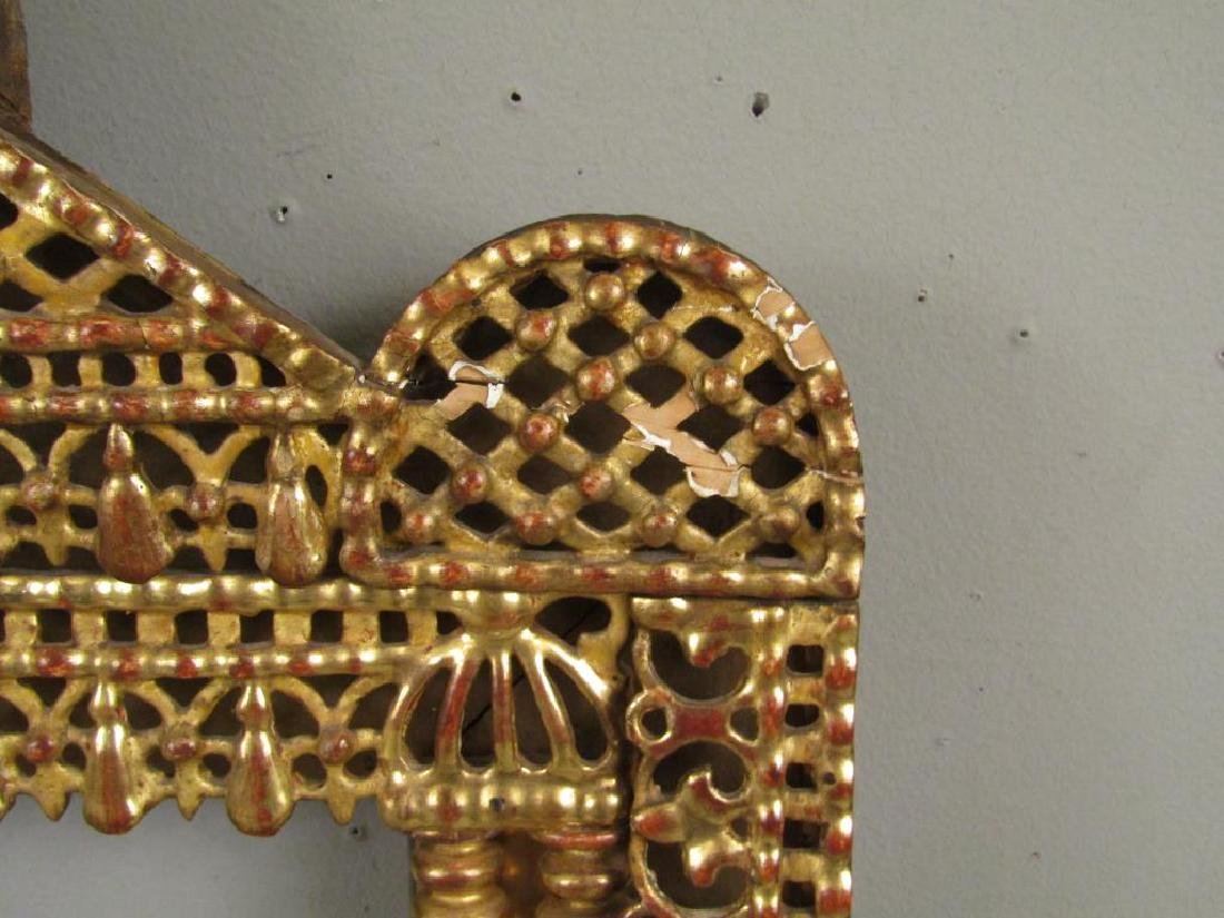 Antique Gilt Carved Frame - 5