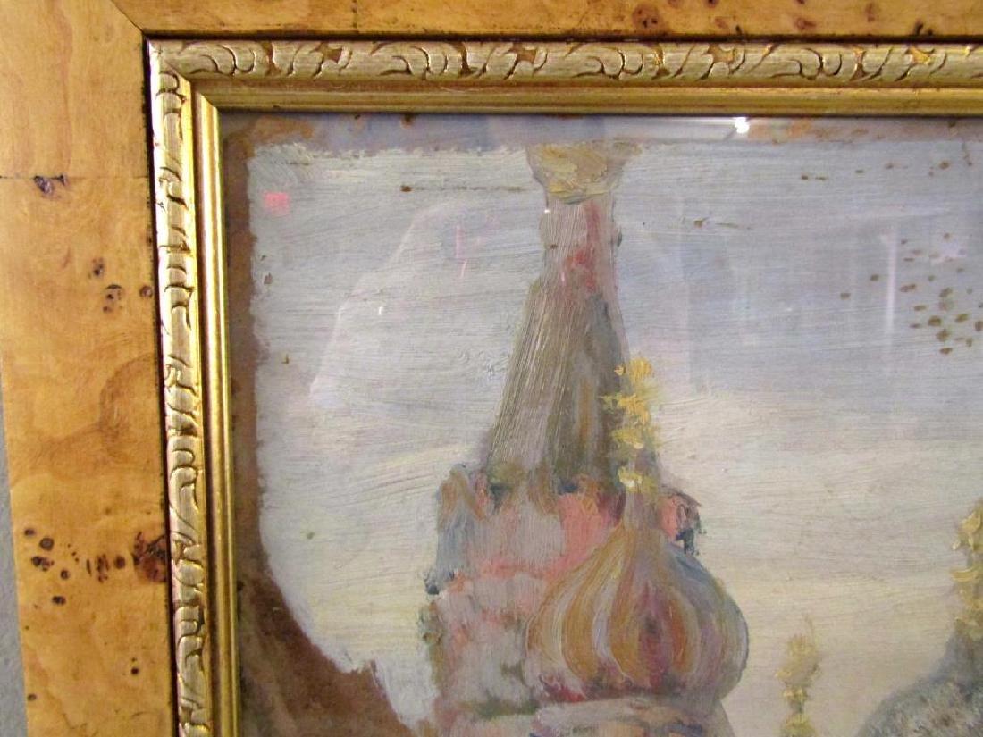 Unsigned - Russian Oil on Artist Board - 3