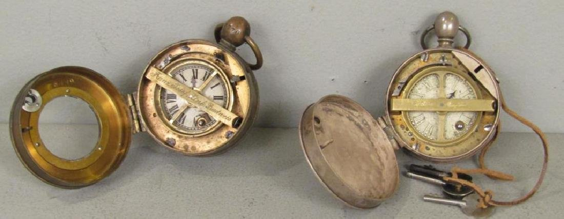 2 German Large Case Watches