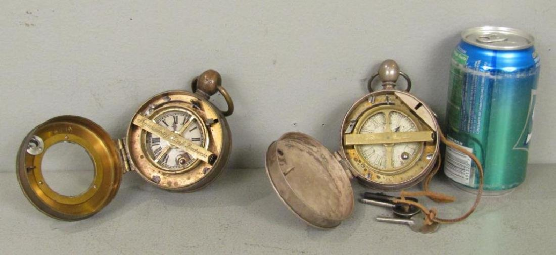 2 German Large Case Watches - 2
