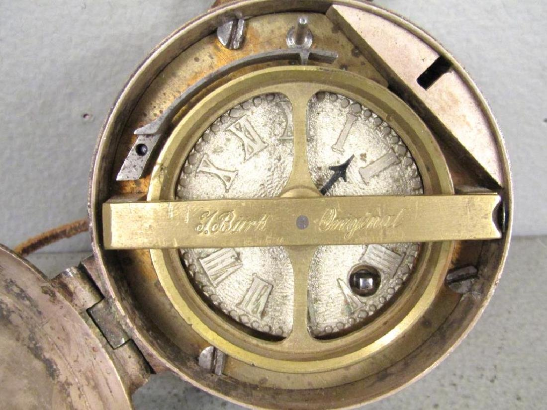 2 German Large Case Watches - 6