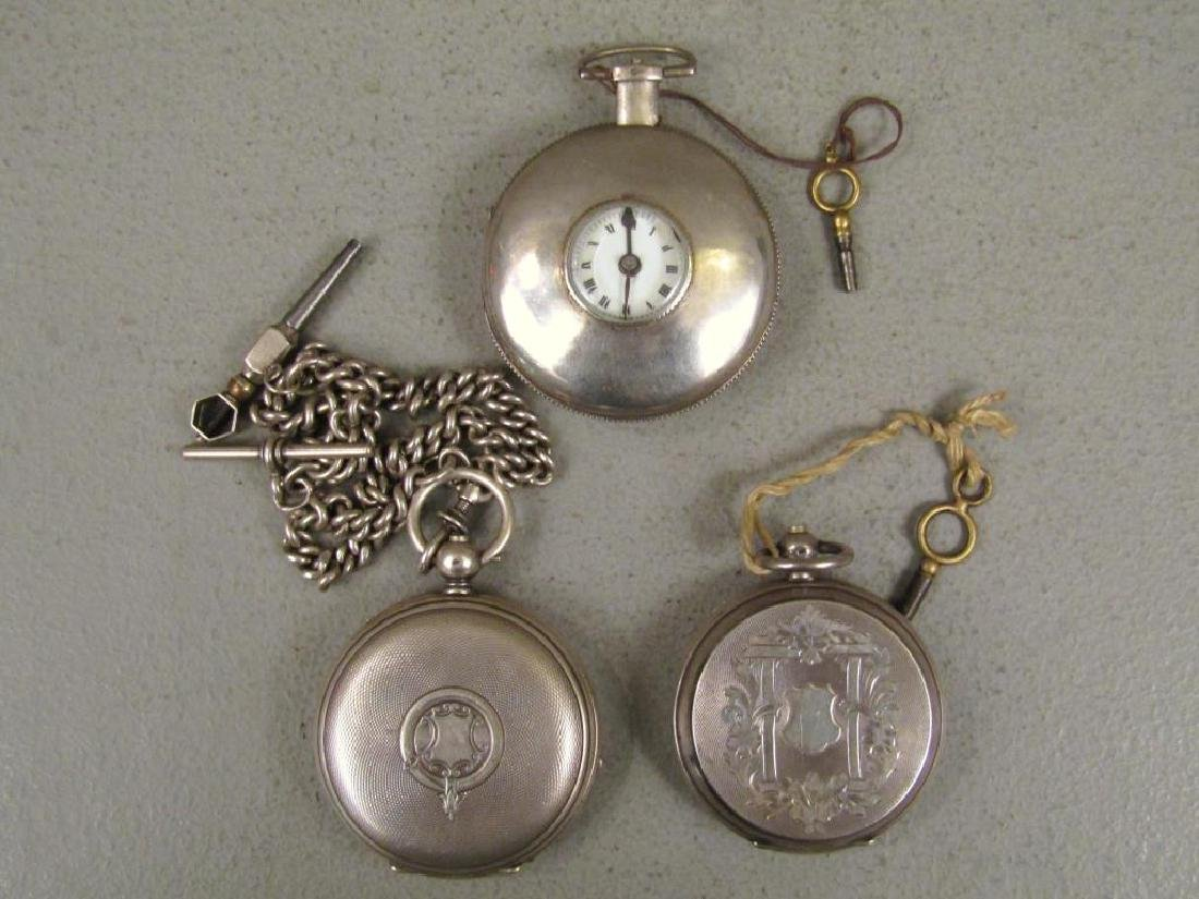 3 Continental Pocket Watches