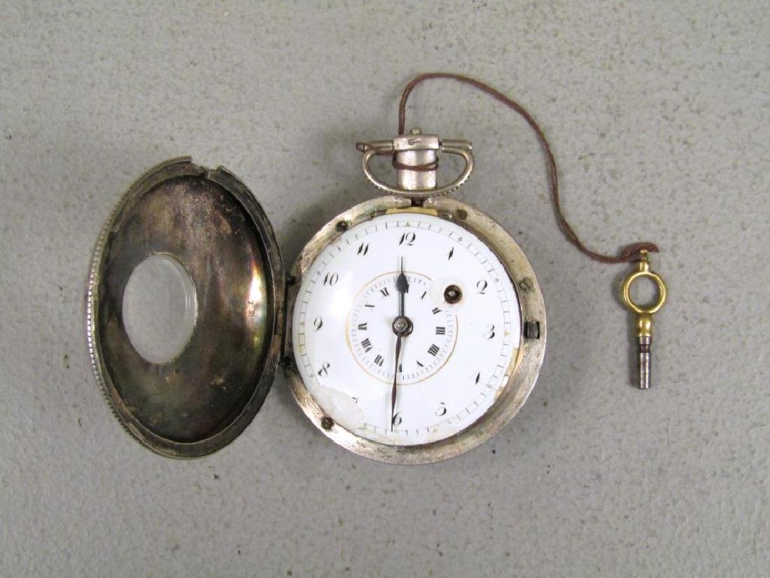 3 Continental Pocket Watches - 3
