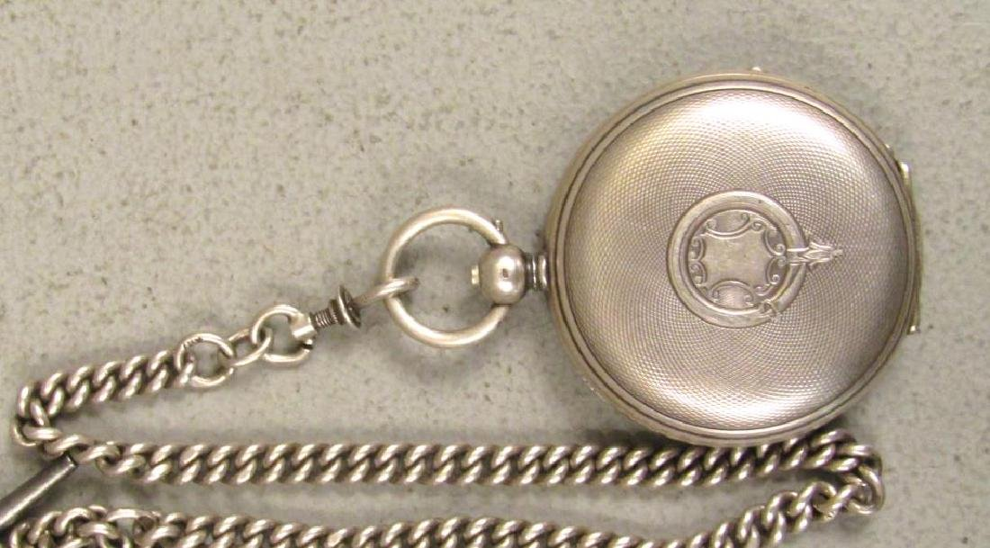 3 Continental Pocket Watches - 4