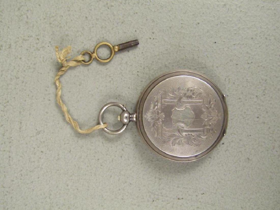 3 Continental Pocket Watches - 8