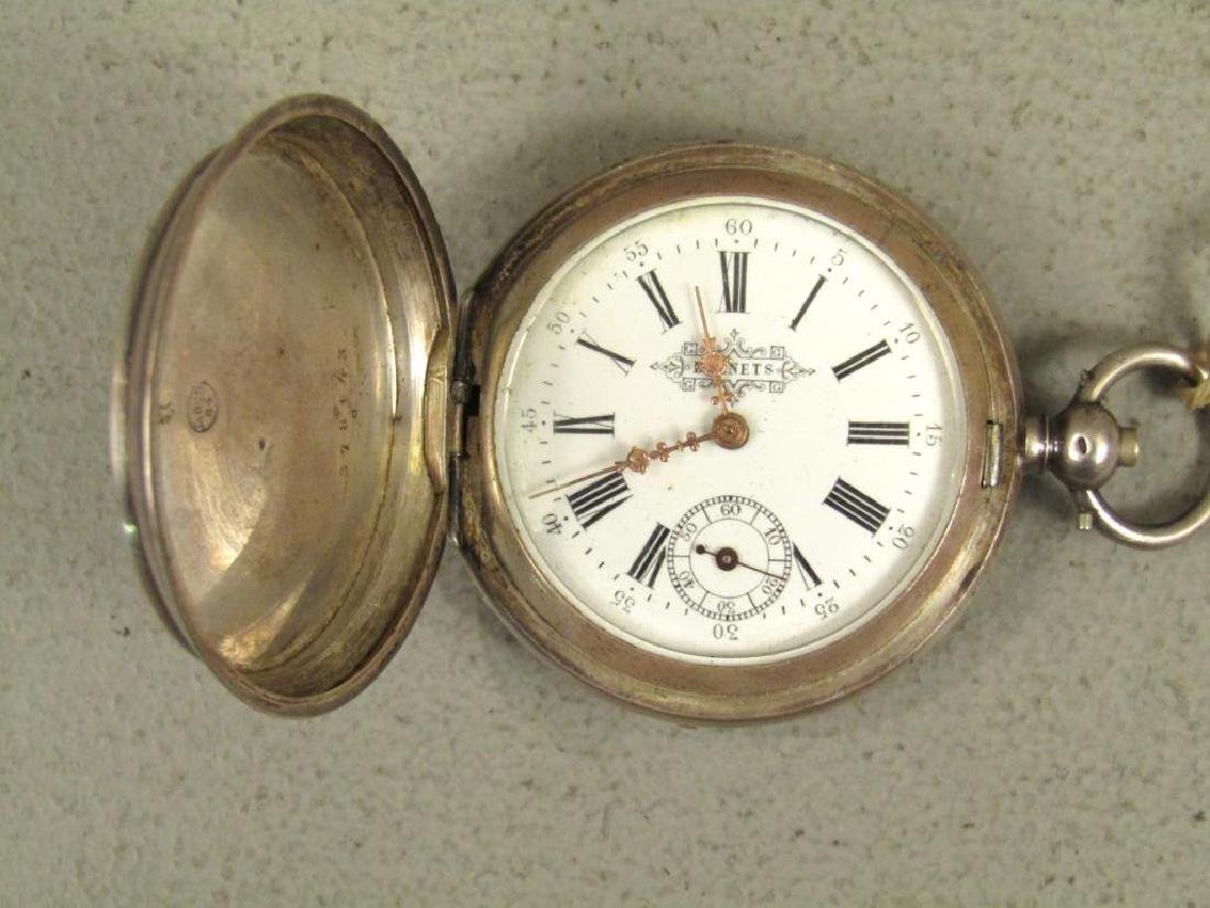 3 Continental Pocket Watches - 9