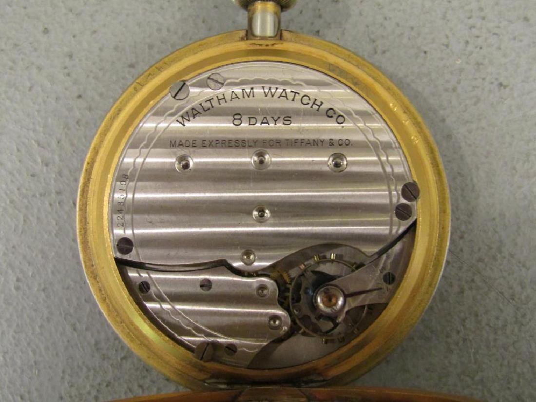 4 Large American Pocket Watches - 5