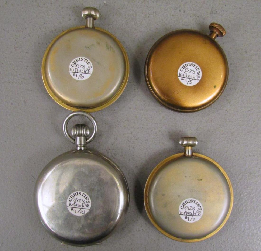 4 Large American Pocket Watches - 7