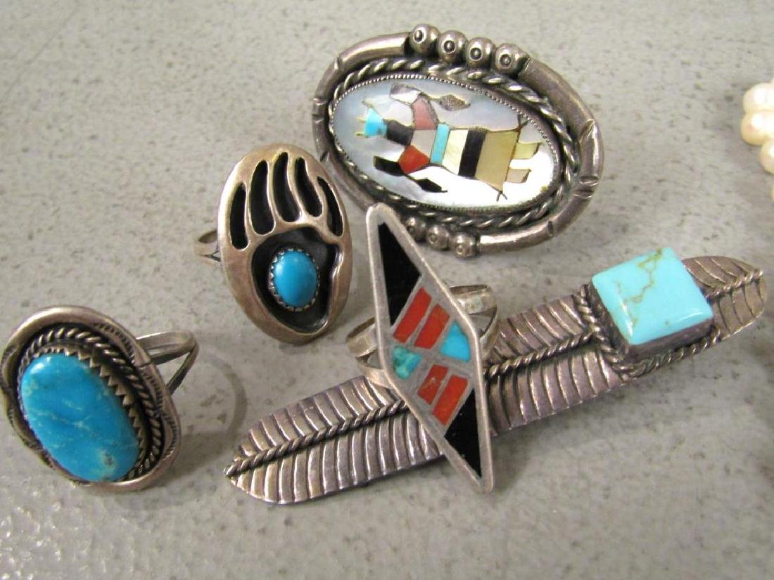 Native American and Other Jewelry - 3