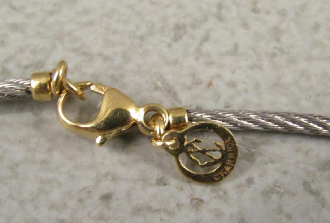 2 Sterling, Gold & Steel Designer Necklaces - 5
