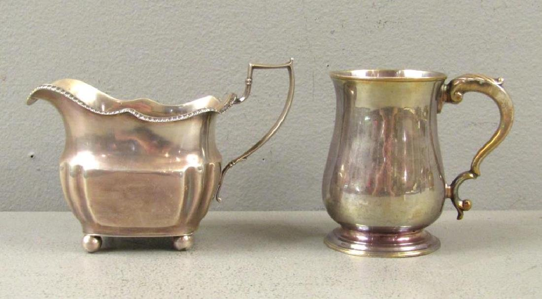 Two 18th Century English Silver Articles