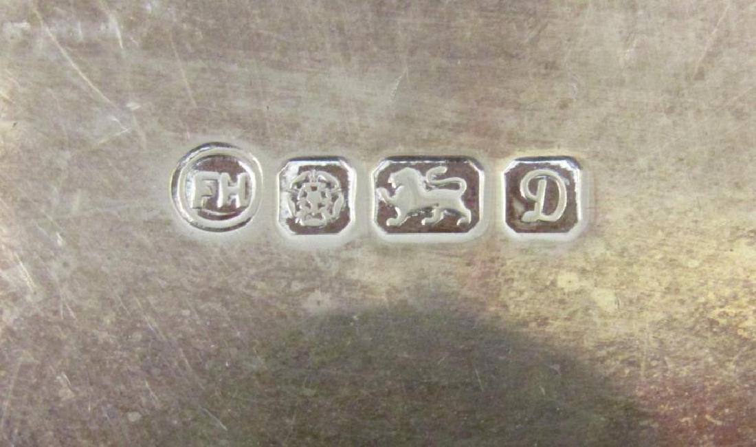 Small English Silver Salver - 5