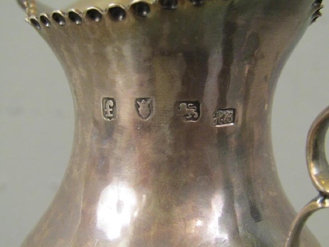 Two Antique English Silver Small Urns - 3