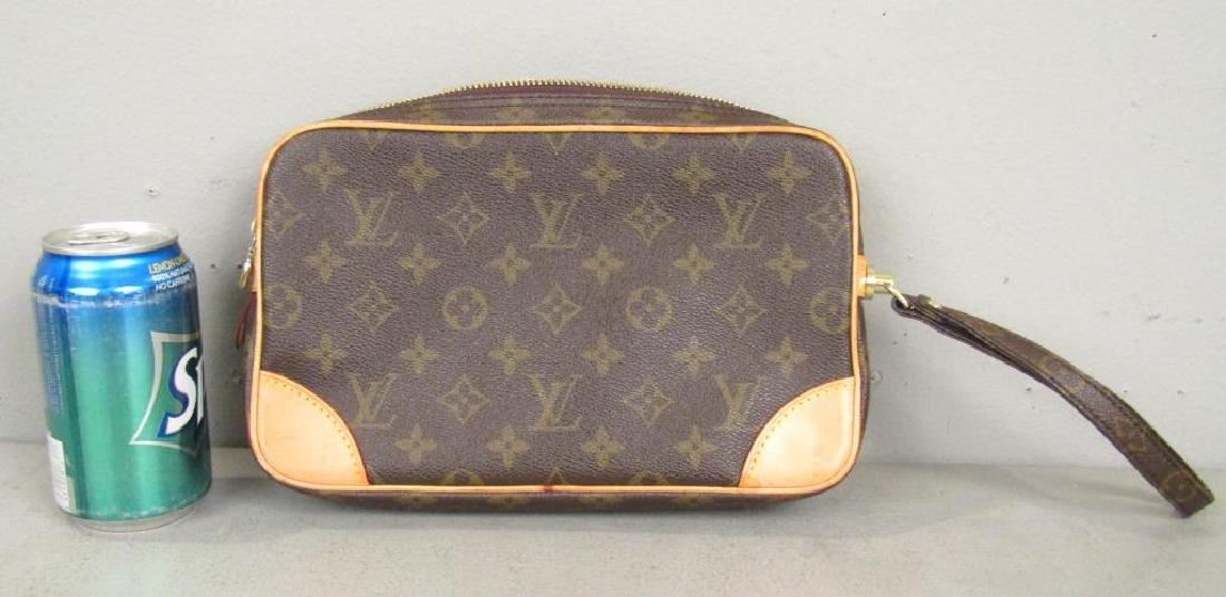 Louis Vuitton 2 Tone Leather Clutch - 3