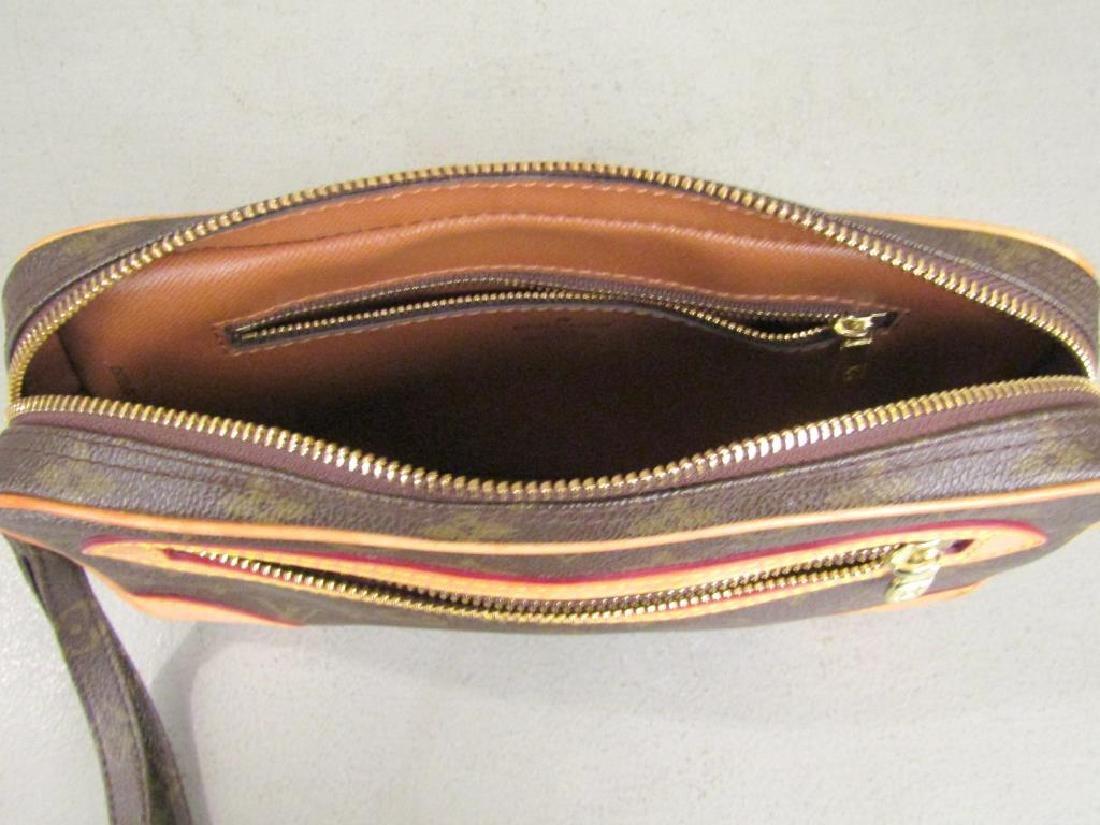 Louis Vuitton 2 Tone Leather Clutch - 5