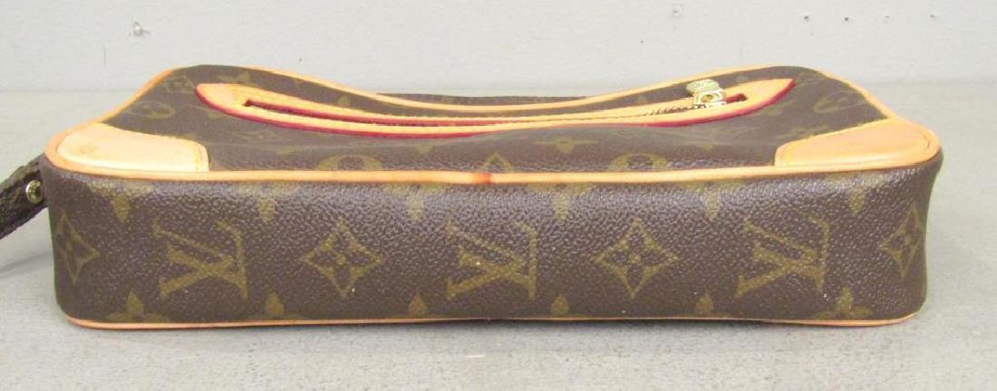 Louis Vuitton 2 Tone Leather Clutch - 9