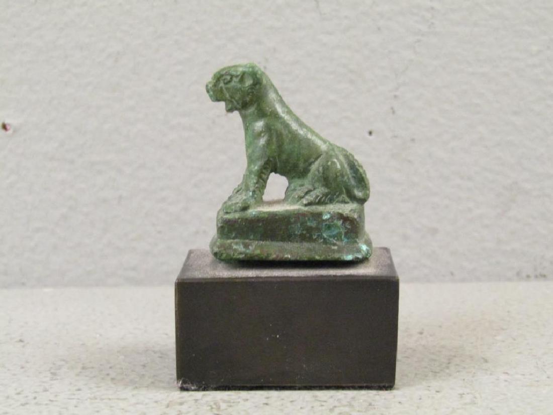 Roman Bronze Lioness Figure