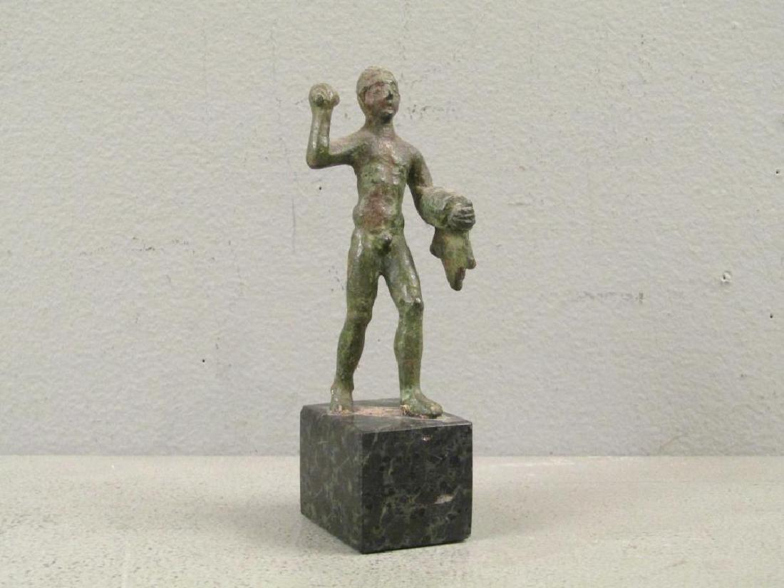 Etruscan Bronze Figure of Hercules