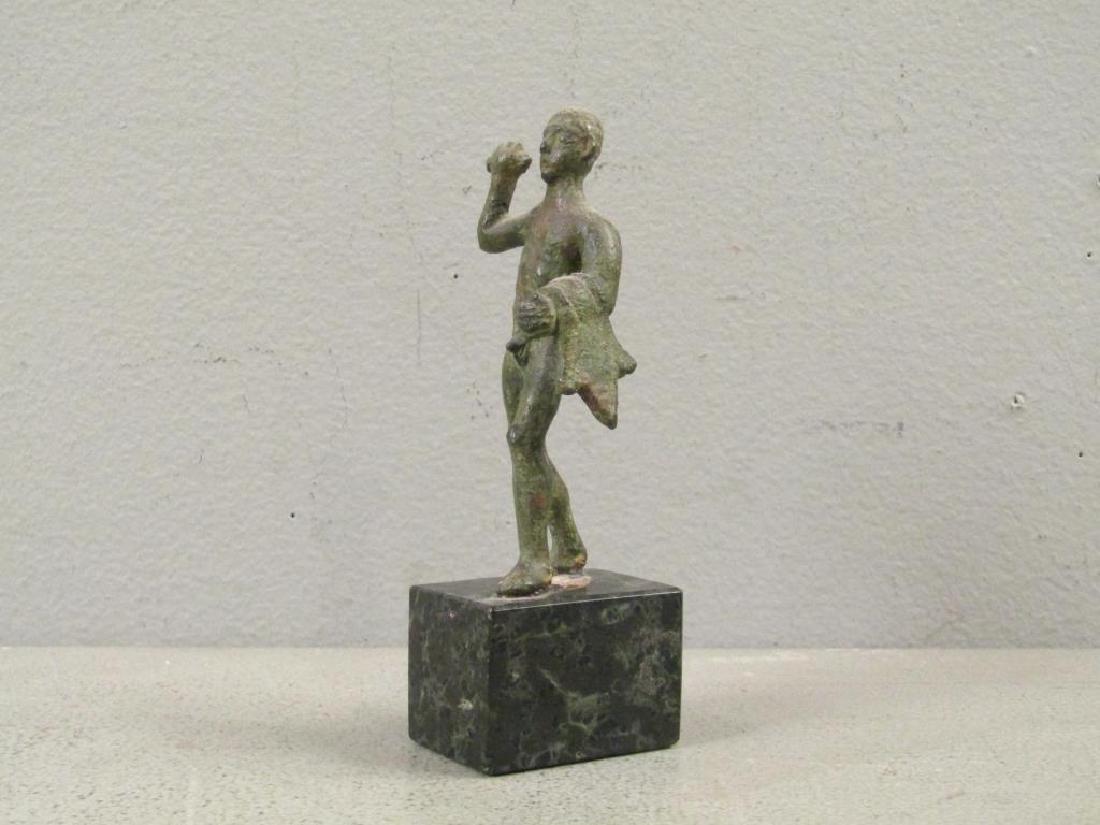 Etruscan Bronze Figure of Hercules - 2