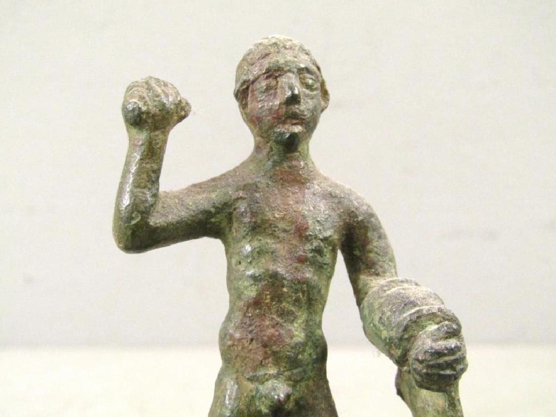 Etruscan Bronze Figure of Hercules - 4