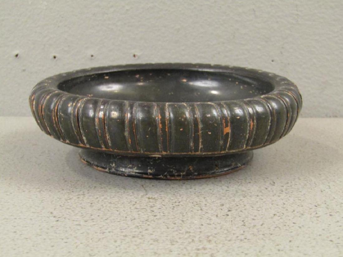 Greek Campanian Black Glazed Terra Cotta Bowl - 2