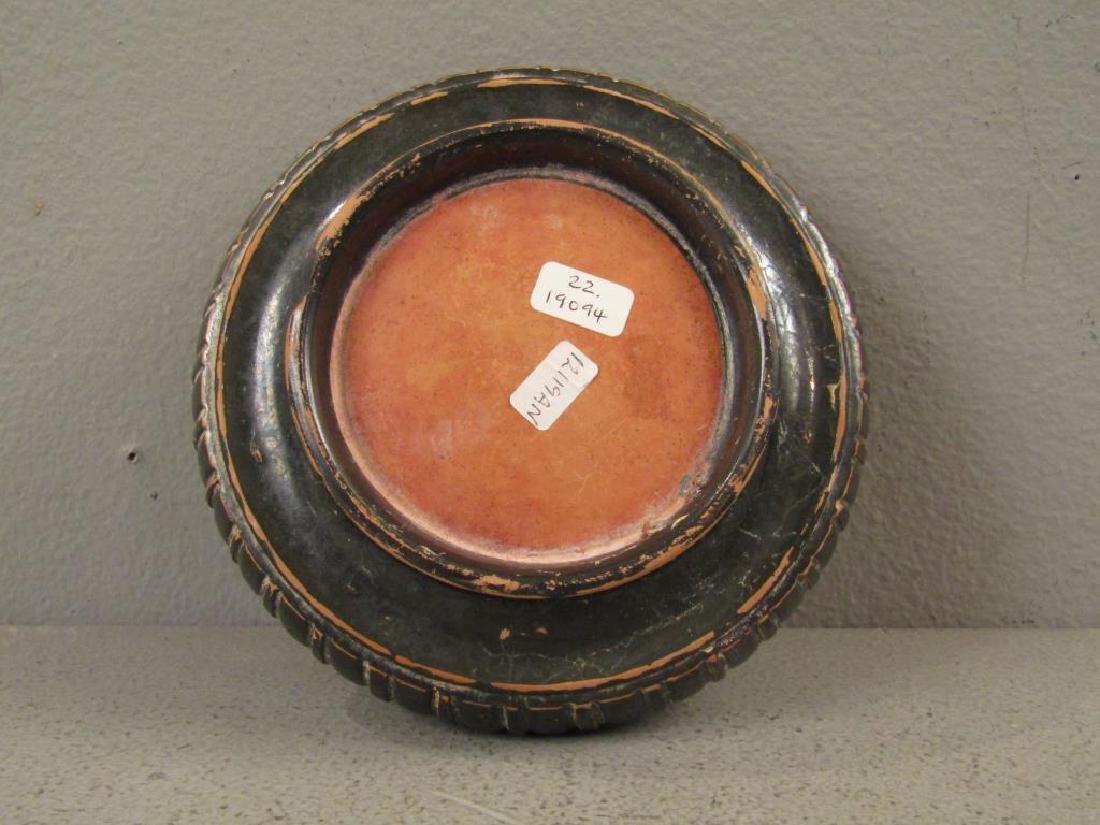 Greek Campanian Black Glazed Terra Cotta Bowl - 5