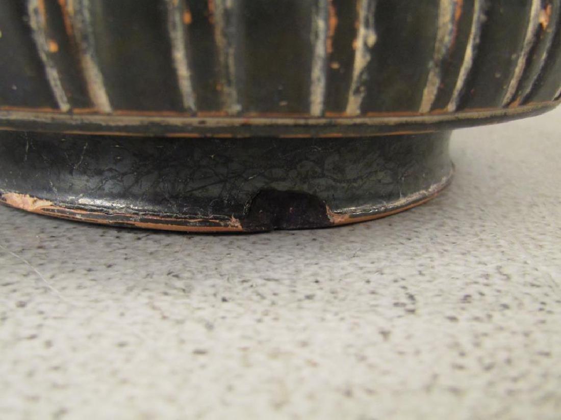 Greek Campanian Black Glazed Terra Cotta Bowl - 6